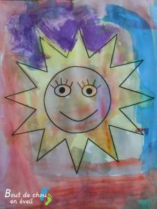 Peinture enfant 4 ans