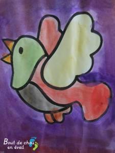 Peinture enfant 5 ans