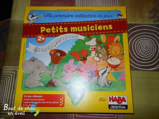 Petits musiciens jeu de société Haba