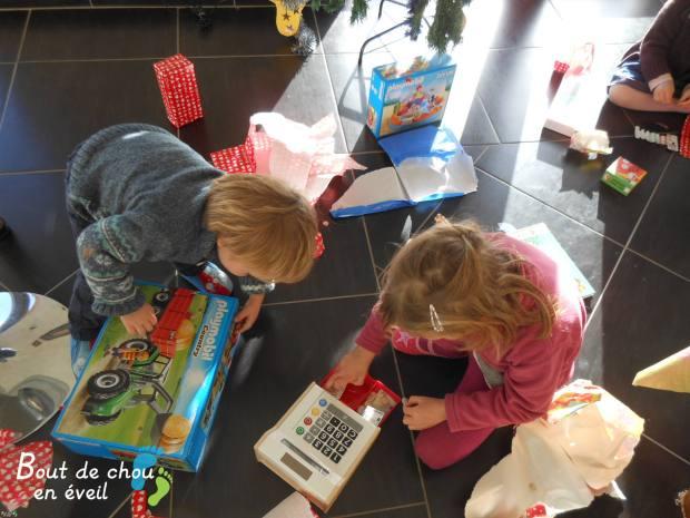 Noel dans la famille Boutdechou en Eveil