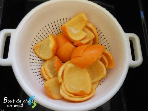 Recette orangettes