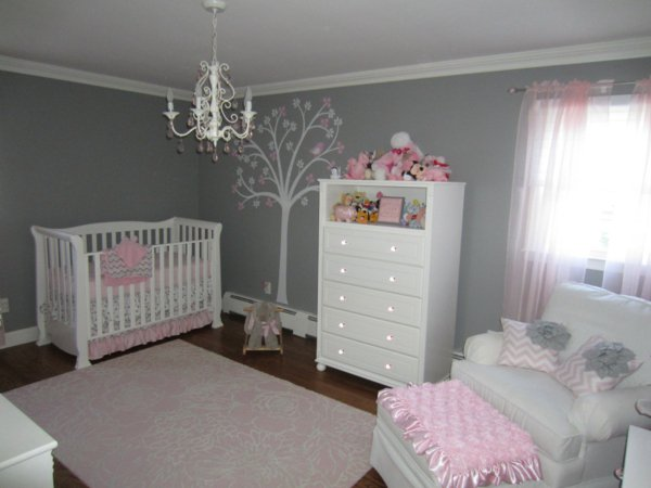Chambre Bb Fille Gris Et Rose - Travestiblog.top