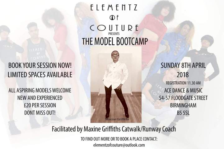 Elementz of couture model boot