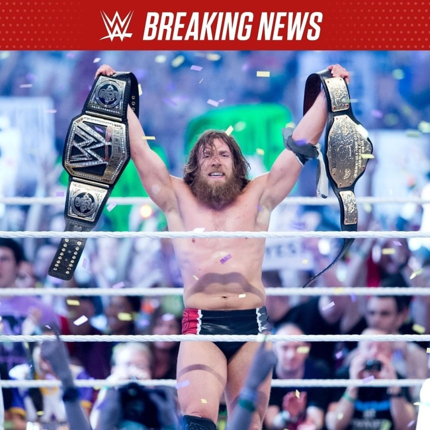 WWE Daniel Bryan cleared for action