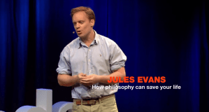 WATCH: How Philosophy Can Save Lives | TEDx Talk
