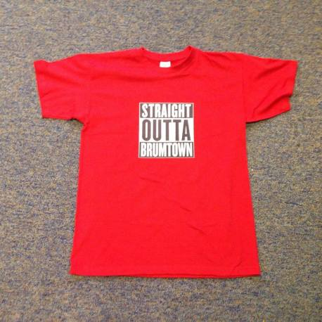 straight outta brumtown tee