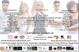 Elementz of Couture 2019 Model Competition | Event