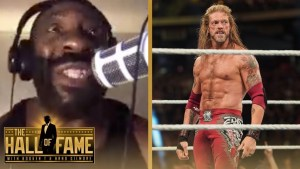Booker T reacts to Edge WWE Royal Rumble Return!
