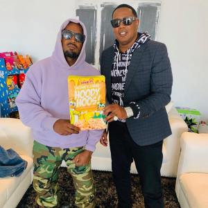 Kanye West gets his meeting with Master P