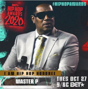 MASTER P to be honoured at 2020 BET Hip-Hop Awards!