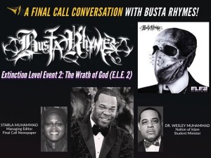 Busta Rhymes A Final Call Conversation With Dr. Wesley Muhammad