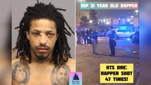 Rapper 'just released' from Cook County Jail shot 64 times fatally outside jail!