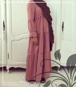 stroken abaya