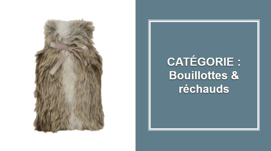 CATÉGORIE : Bouillottes et réchauds