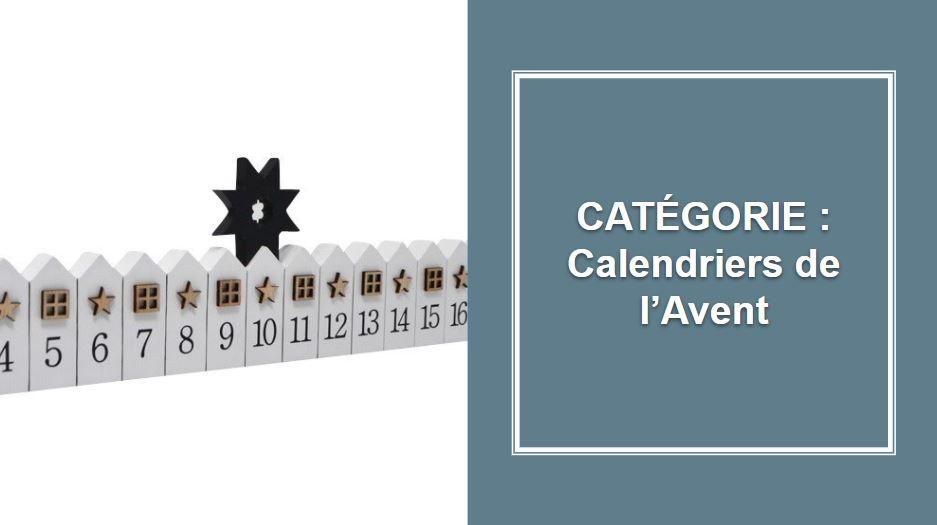 CATÉGORIE : Calendriers de l'Avent