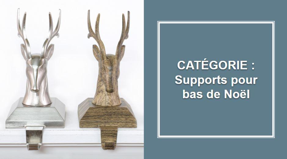 CATÉGORIE : Supports de bas de Noël