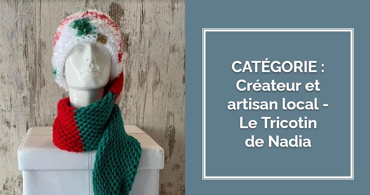 CRÉATEUR & ARTISAN : Le Tricotin de Nadia