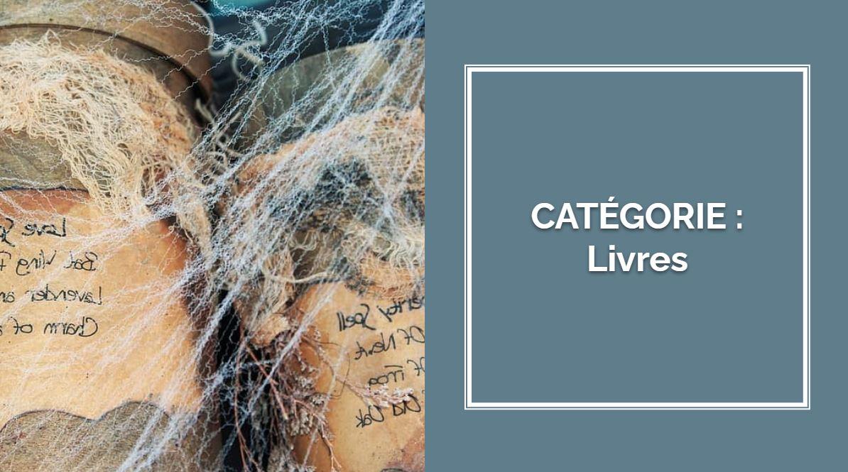 CATÉGORIE : Livres