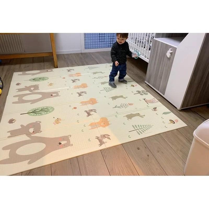 tapis de sol pliant pour la chambre d enfant
