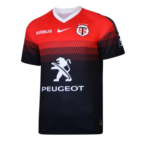 Stade Toulousain Men's Home Rugby Shirt 2019/2020 - Nike