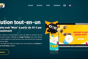 Thèmes ninja: site web à partir de 35 euro par mois