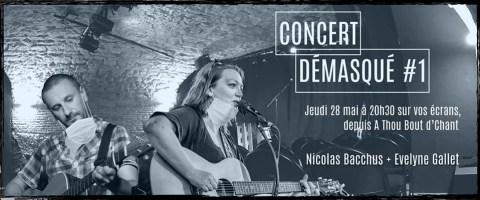 Concert démasqué #1 : Evelyne Gallet - Nicolas Bacchus