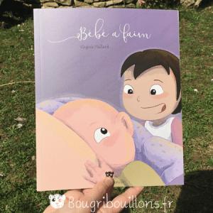 Couverture livre Bébé a faim