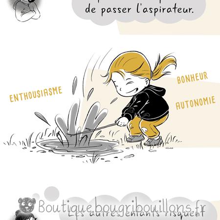 Laisser les enfants se salir Extrait 1 - Affiche Bougribouillons Petite enfance