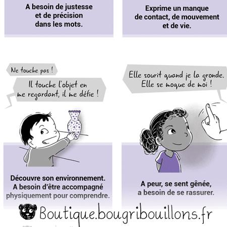 Changer de vision - L'adultomorphisme - Extrait 2 - Affiche Bougribouillons Petite enfance