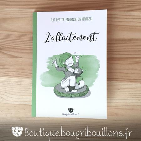Livrets Bougribouillons - La petite enfance en images - Livret Allaitement