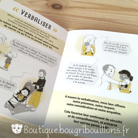 Livrets Bougribouillons - La petite enfance en images - Extrait Éducation consciente