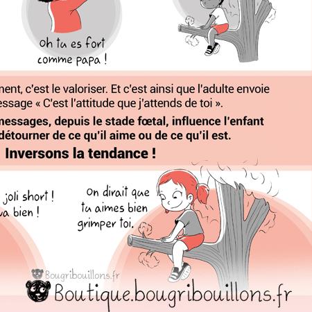 Stéréotypes du genre - Extrait 3 - Affiche Bougribouillons Petite enfance