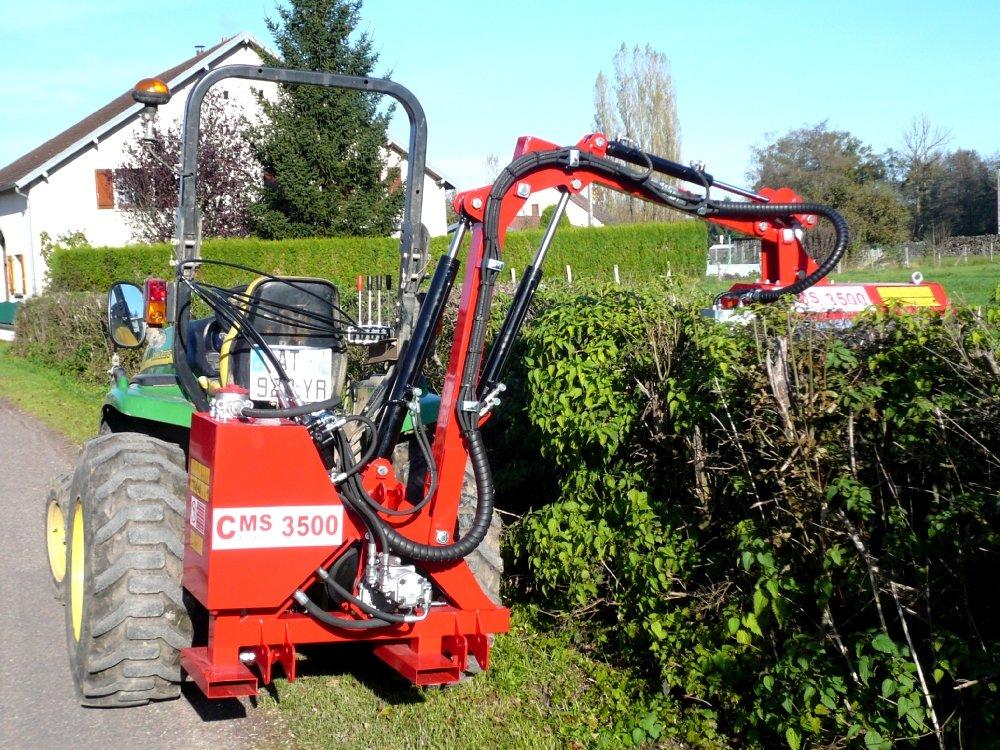 Epareuse Debroussailleuse Agricole Cms 3500 Entretien Espace Vert Agricole