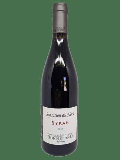 Sensation du Nord - Syrah 2019 - Domaine Patrick et Christophe BONNEFOND
