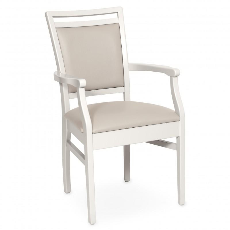 chaise avec accoudoirs premium c