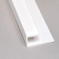 Moulure De Bout Pour FRP 10 Blanc