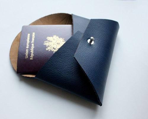 Patron pochette en cuir