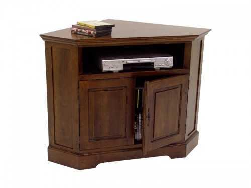 meuble tv d angle cocoon en bois de