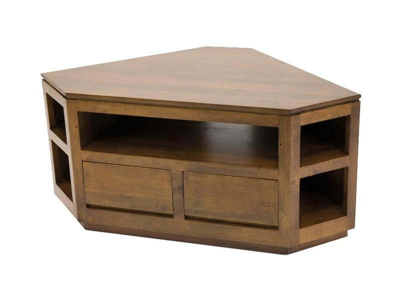 meuble tv d angle sur socle oscar 5