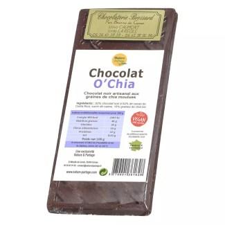Chocolat noir au graines de chia
