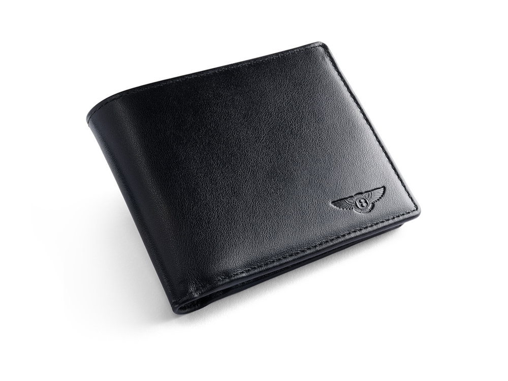 Bentley Leather Wallet With Coin Case Post Oak Motor