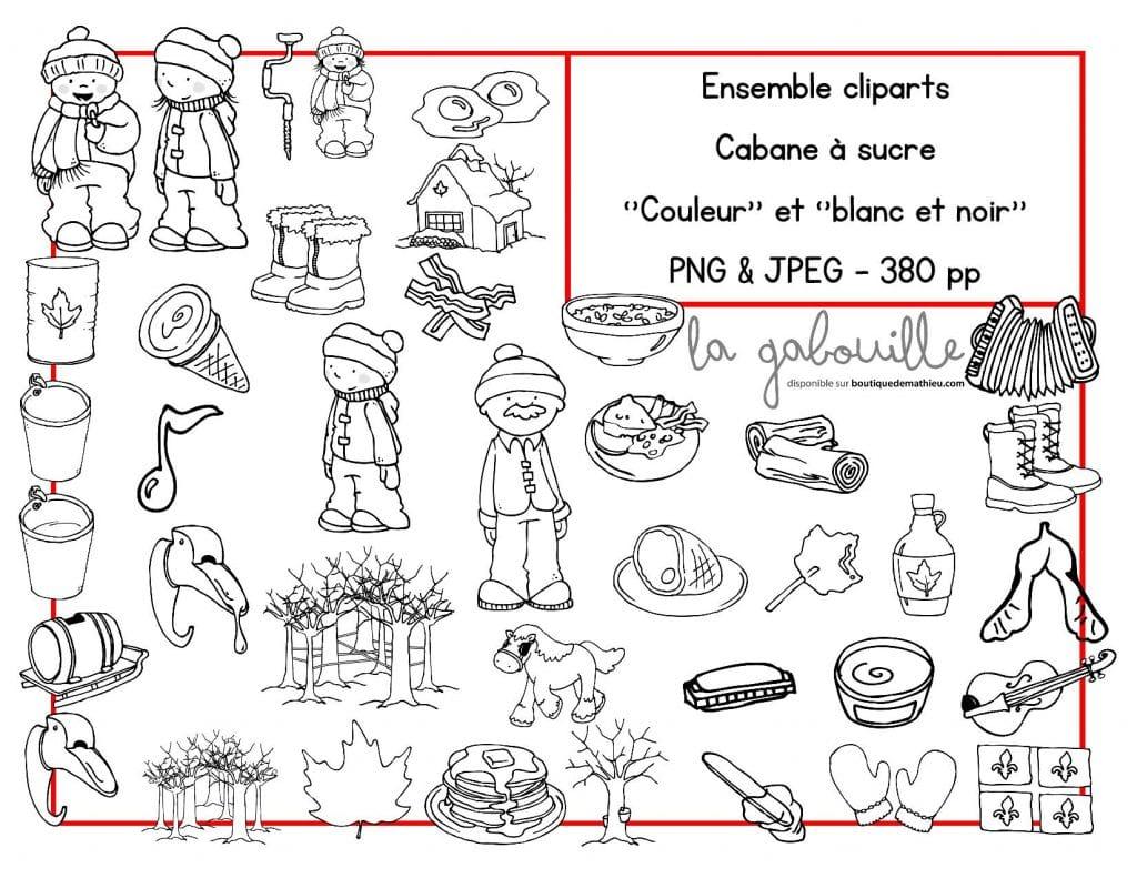 88 Cliparts Pour Le Theme Du Temps Des Sucres Images