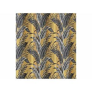 rideau sumatra motif feuillage exotique 135x245 cm