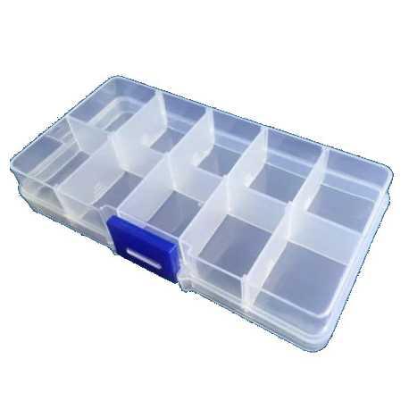 boite de rangement 10 compartiments modulable