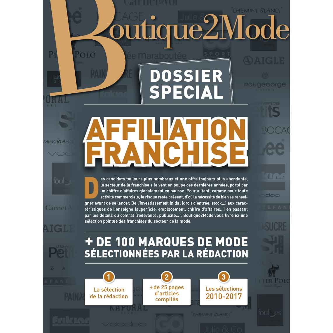 Dossier spécial Affiliation-franchise