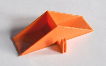 Peças fabricadas com impressora 3D RepRap.