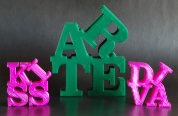 word-sculptures