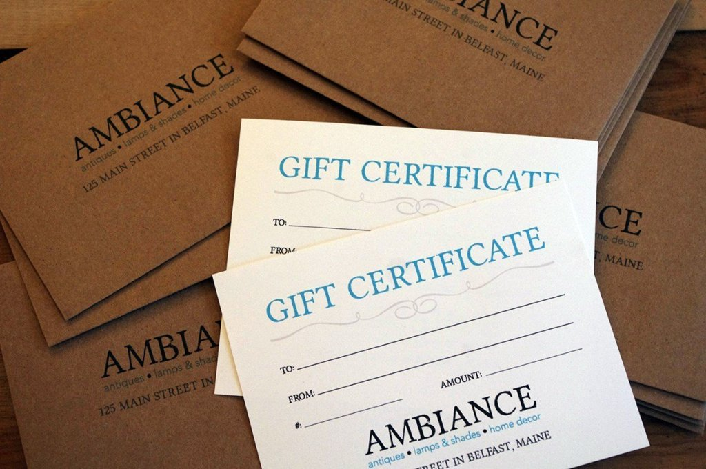 Ambiance-Belfast-Maine-Gift-Certificate