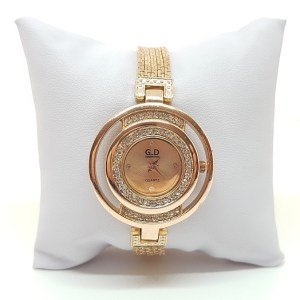 Montre bracelet métal rose gold