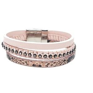 Bracelet python rose